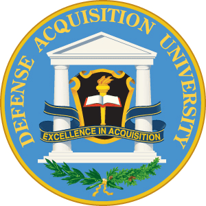 Defense Acquisition University (DOD) logo